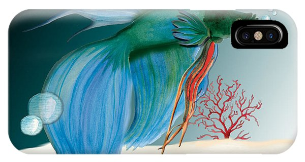 Beta Fish IPhone Case
