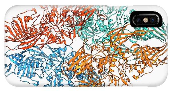 Beta-galactosidase Molecule Phone Case by Laguna Design/science Photo Library