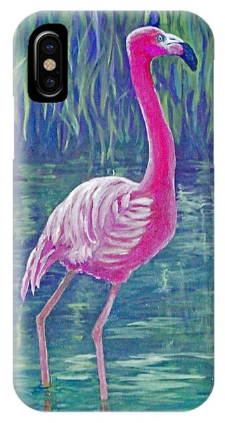 Beta's Flamingo IPhone Case