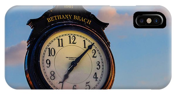 Bethany Beach Clock IPhone Case