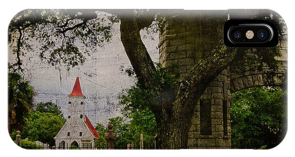 Bethany Cemetery Entryway IPhone Case