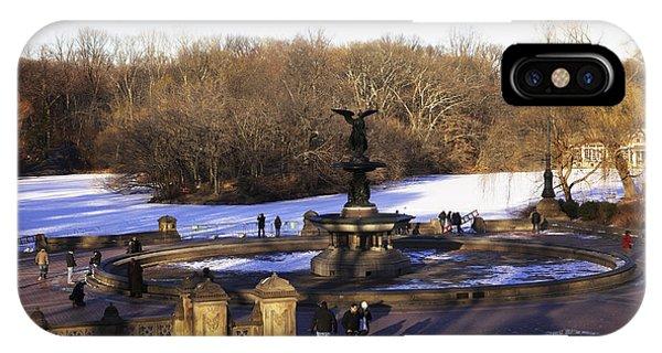 Bethesda Fountain 2013 - Central Park - Nyc IPhone Case