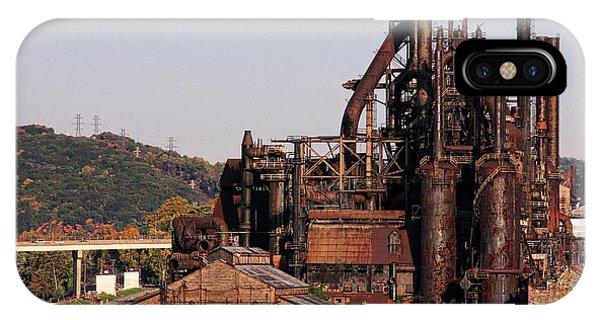 Bethlehem Steel # 8 IPhone Case