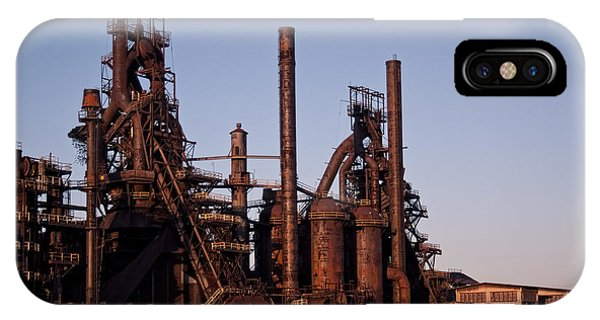 Bethlehem Steel At Sunset IPhone Case