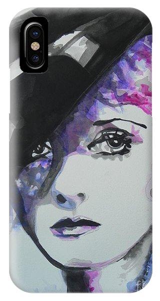 Child Actress iPhone Case - Bette Davis 02 by Chrisann Ellis