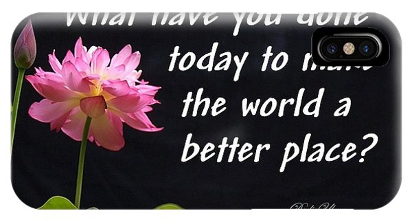 Better Place IPhone Case