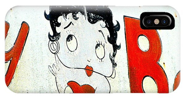 Betty Boop Herself IPhone Case