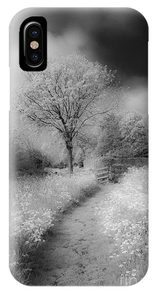 Between Black And White-23 IPhone Case