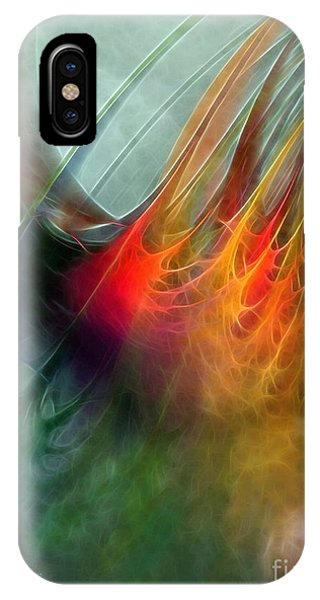 Between Heaven And Earth-abstract IPhone Case