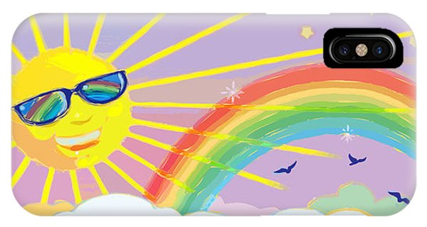 Beyond The Rainbow IPhone Case