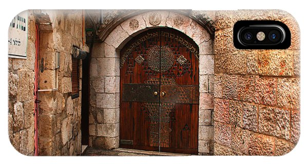 Door In Jerusalem IPhone Case