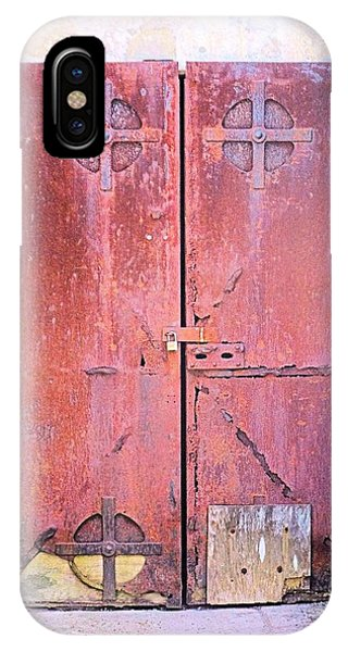 Beyond Yon Locked Door IPhone Case