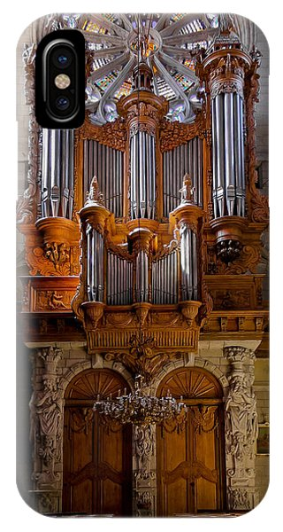 Beziers Pipe Organ IPhone Case