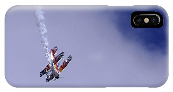 Bi Wing Stunt Plane IPhone Case