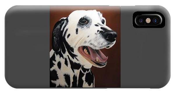 Bianca Rob's Dalmatian IPhone Case