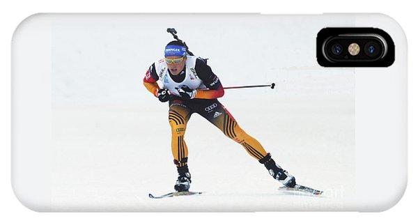 biathlete Erik Lesser Germany IPhone Case