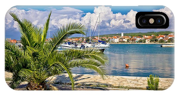Bibinje Village In Dalmatia Waterfront View IPhone Case