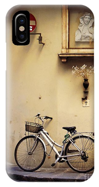 Bicycle And Madonna IPhone Case