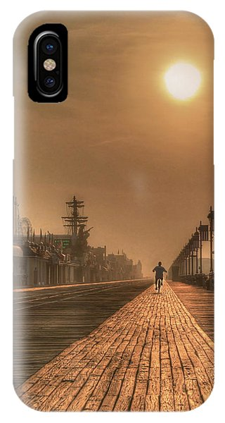 Bicycle Boardwalk IPhone Case