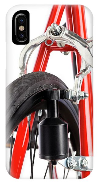 Bicycle Dynamo Fixed To Back Wheel IPhone Case