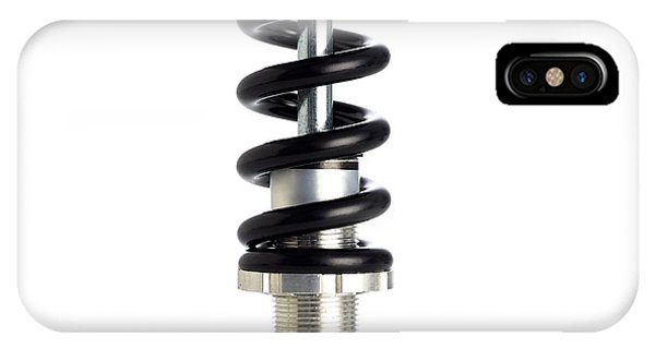 Bicycle Spring Suspension Phone Case by Science Photo Library
