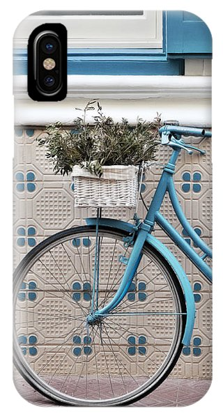 Vintage Bicycle Photography - Bicycles Are Not Only For Summer IPhone Case