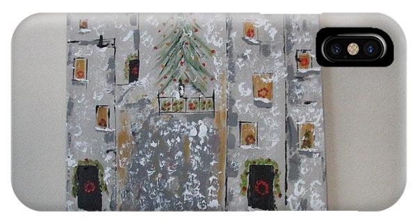 Big Apple Christmas IPhone Case