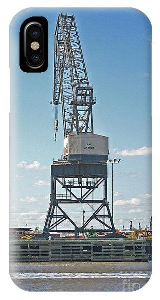 Big Arthur At Port Arthur Texas IPhone Case