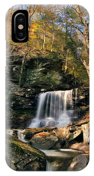 Big Autumn View At B. Reynolds Falls IPhone Case