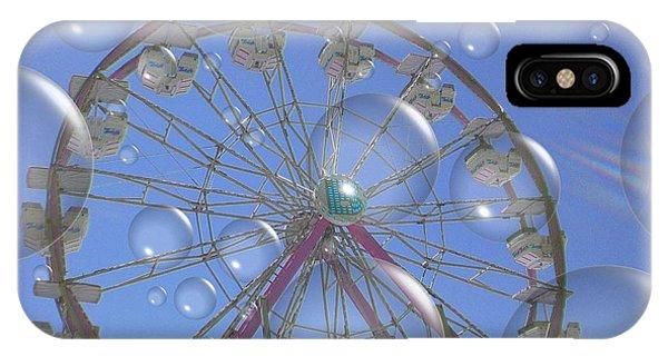 Big B Bubble Ferris Wheel IPhone Case
