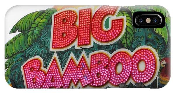 Big Bamboo IPhone Case