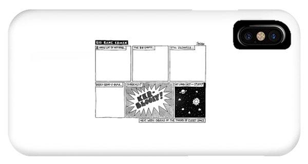 Big Bang Comix IPhone Case