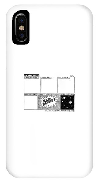 July 4 iPhone Case - Big Bang Comix by Jack Ziegler