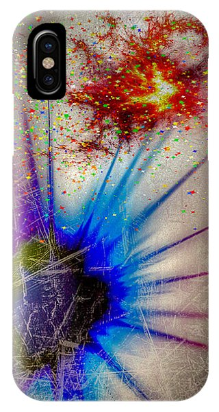 IPhone Case featuring the digital art Big Bang by Eleni Mac Synodinos
