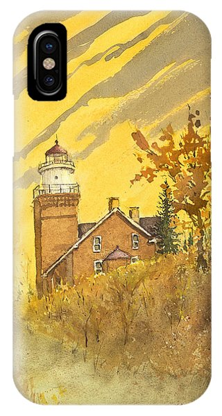 Big Bay Lighthouse IPhone Case