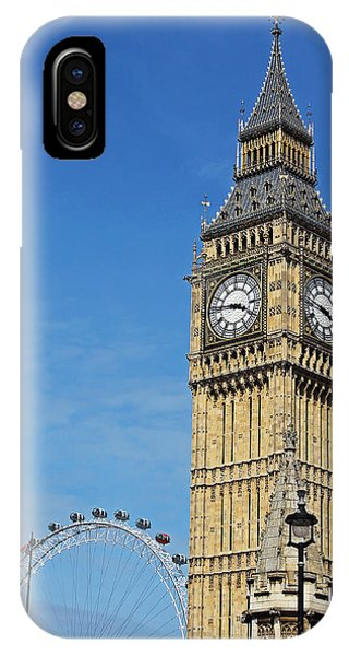 Big Ben And London Eye IPhone Case