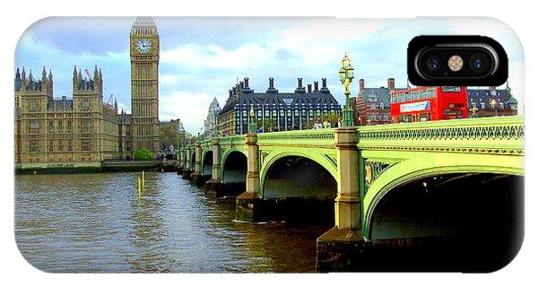 Big Ben And River Thames IPhone Case