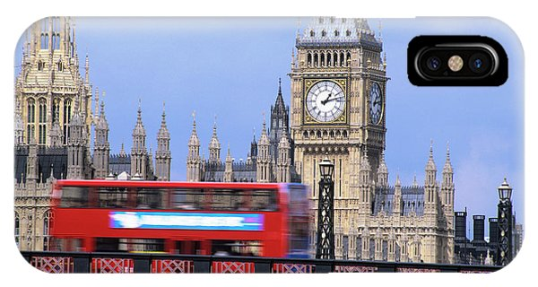 Big Ben And The Houses Of Parliament Phone Case by Mark Thomas/science Photo Library