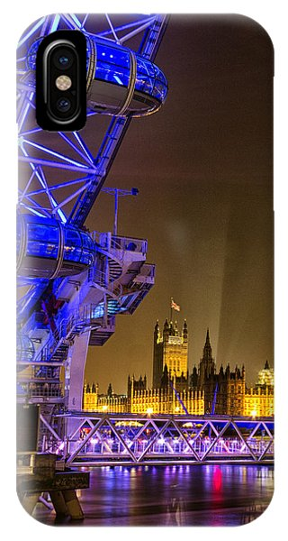 Big Ben And The London Eye IPhone Case