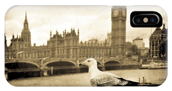 Big Ben And The Seagull IPhone Case