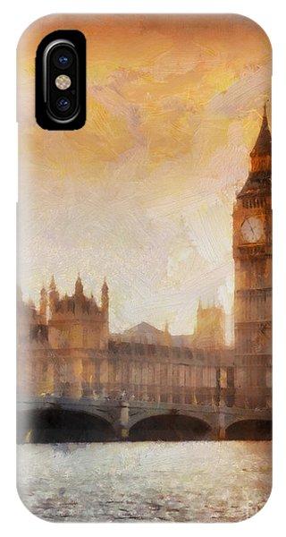 London iPhone Case - Big Ben At Dusk by Pixel Chimp
