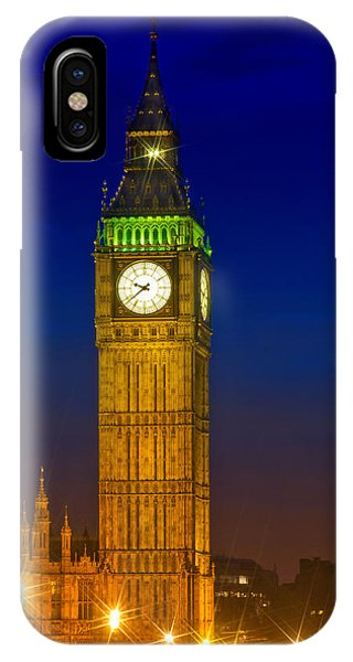 Big Ben By Night IPhone Case