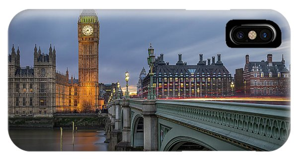 Ben iPhone Case - Big Ben by Costas Economou