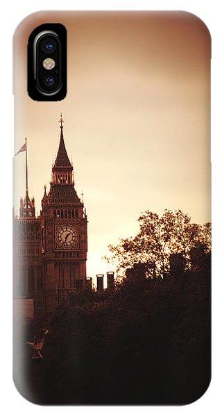 Big Ben In Sepia IPhone Case
