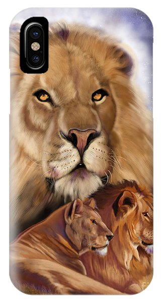 Third In The Big Cat Series - Lion IPhone Case