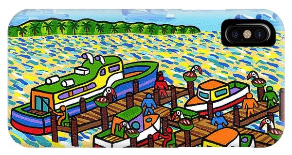 Big Dock - Cedar Key IPhone Case