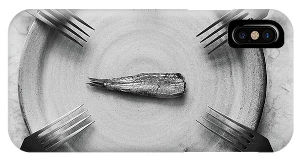 Dinner iPhone Case - Big Family by Aleksandrova Karina