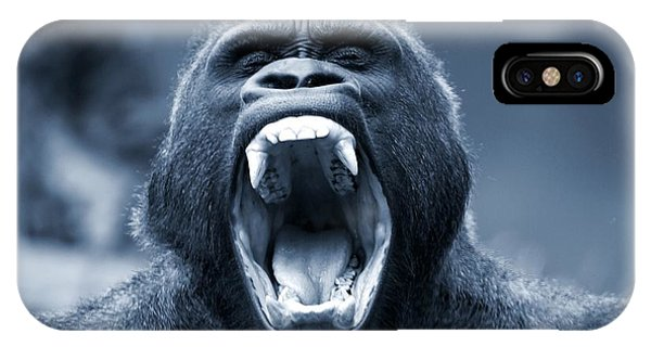 Big Gorilla Yawn IPhone Case