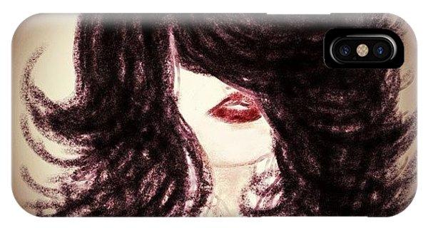 Big Hair Rocks Phone Case by Go Inspire Beauty