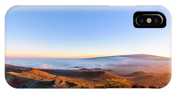 Big Island Sunset 2 IPhone Case